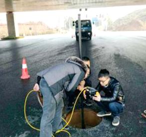 曲塘路QV管道检测施工